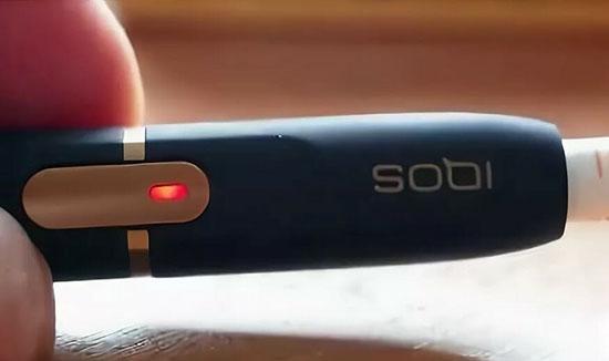 Значение сигнала IQOS красным миганием