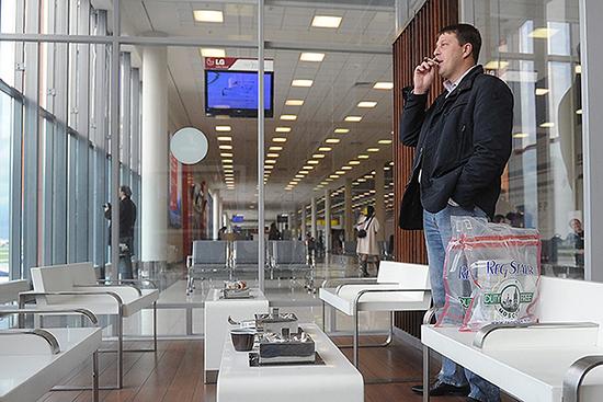 Лаундж-зоны IQOS в аэропорту Шереметьево