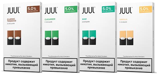 Полный обзор картриджей для Juul