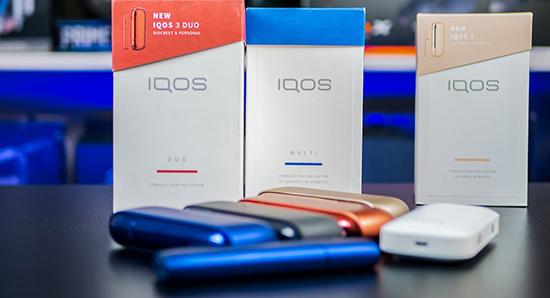 Совершенство моделей всех поколений IQOS