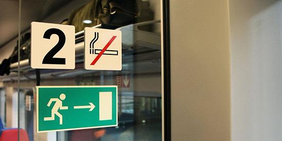 Разрешено ли в поездах курить IQOS