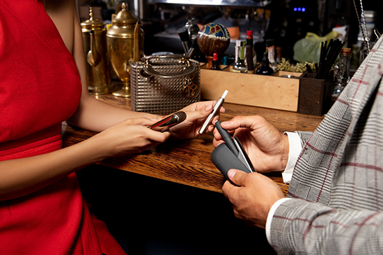 Разрешается ли курение IQOS в ресторанах и кафе