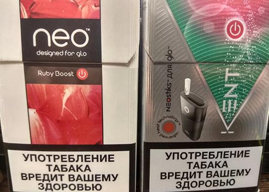 Вкусы стиков Neostiks для нагревателей табака GLO