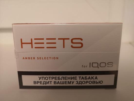 Стики для айкос оранжевые «Amber Label» - замена крепких сигарет