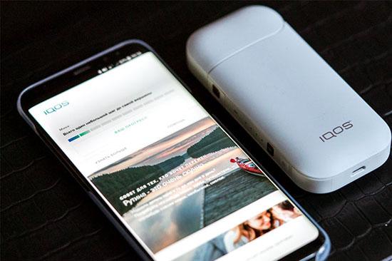 Обзор приложения для iPhone от системы IQOS