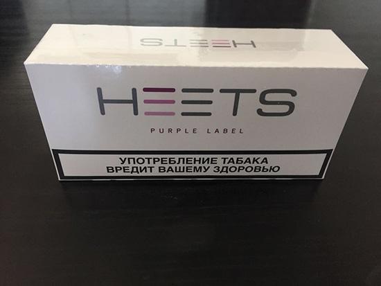 Розовые табачные стики для нагревателя табака IQOS