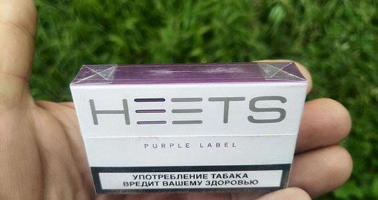 Нежный ягодный вкус фиолетовых стиков purple wave для IQOS