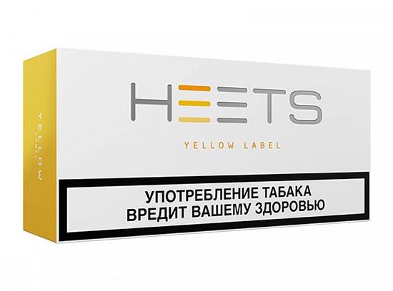 IQOS желтые стики Yellow Label – самый легкий вкус